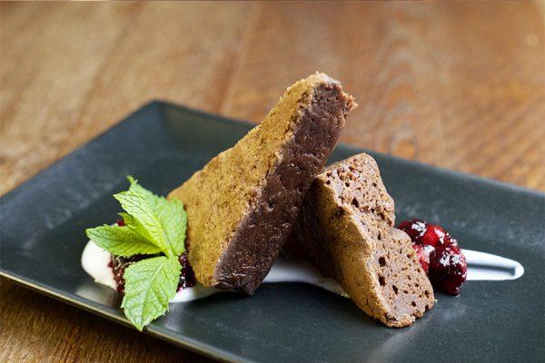 brownie de chocolate restaurante pasapan