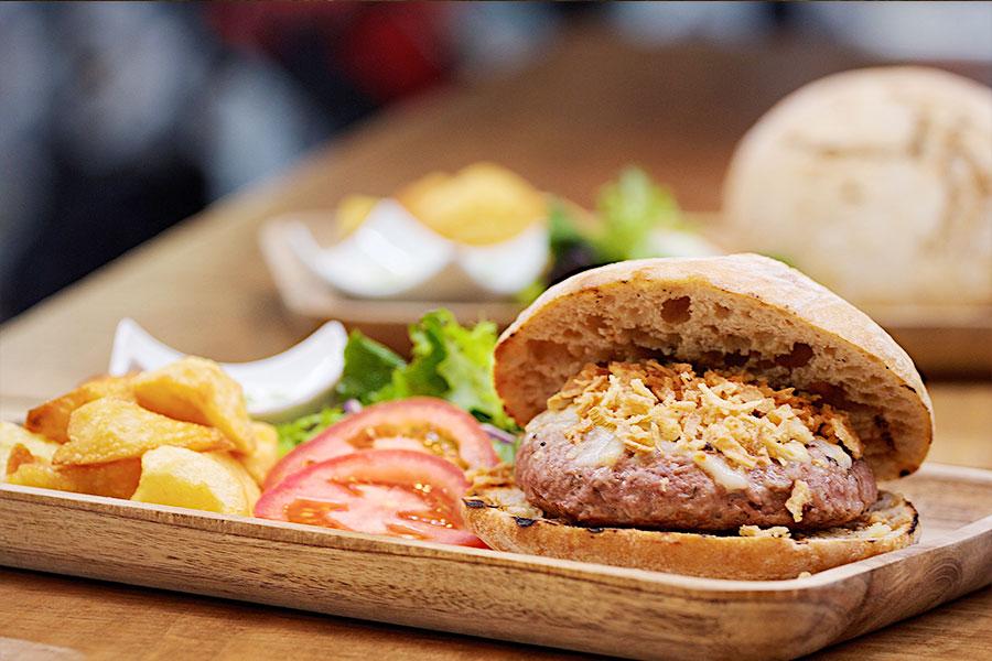 Hamburguesa segoviana restaurante pasapan